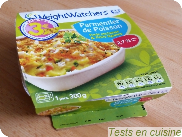Parmentier de poisson weightwatchers tests en cuisine - Plat cuisine weight watchers ...