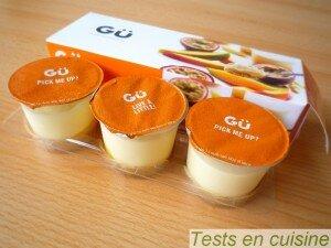 Cheesecake mangue passion Gü : pots