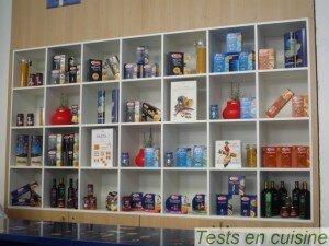 Les produits Casa Barilla