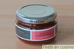 Délice de tomates séchées - Domaine du bois gentil