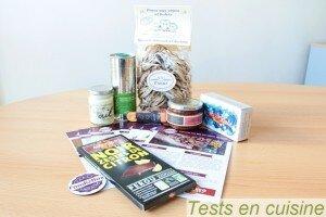 FoodizBox Octobre : les produits