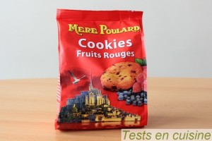 Cookies aux fruits rouges La Mère Poulard