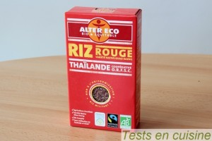 Riz rouge Alter Eco