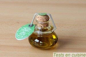 Huile d'olive à la menthe