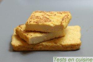 Filets de tofu à la japonaise Taifun grillés
