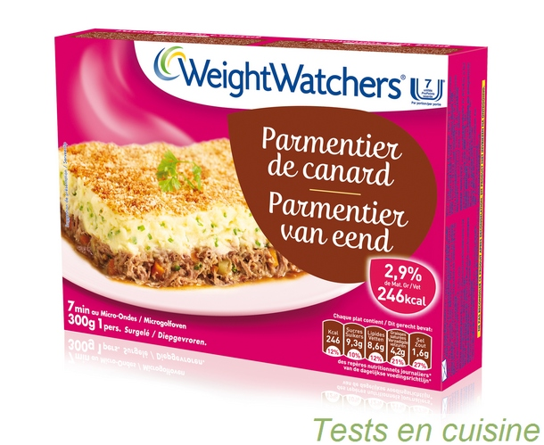 La recette du parmentier de canard light par weight watchers - Plat cuisine weight watchers ...