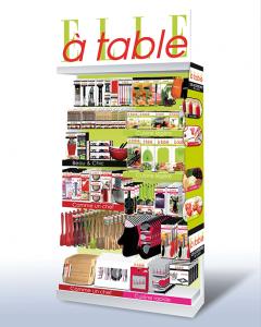 Linéaire d'accessoires de cuisine Elle à table