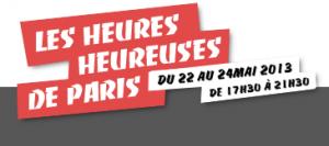 Les Heures Heureuses de Paris 2013