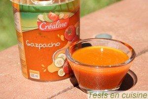 Gazpacho Créaline : zoom