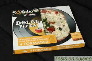 Dolce pizza 4 fromages Sodebo