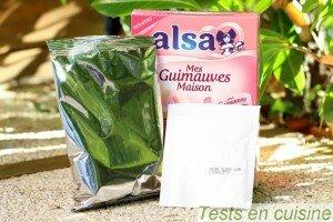 Mes guimauves maison Alsa : les sachets