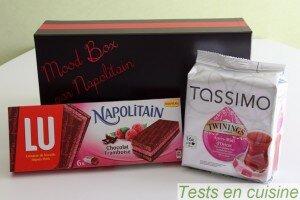 Mood box par Napolitain : les gourmandises