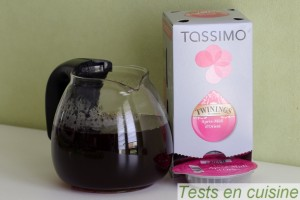 Mood box par Napolitain : thé Tassimo à la fraise et pétales de rose
