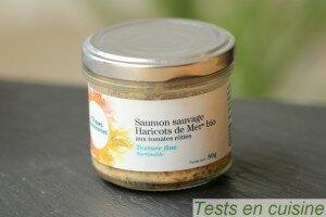 Saumon sauvage haricots de mer Les Algues Gastronomes