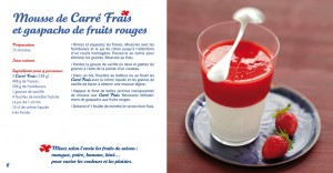 Mousse de Carré Frais et gaspacho de fruits rouges</a srcset=