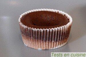 Croustillant au chocolat noir noisettes et amandes Pâturages avant cuisson