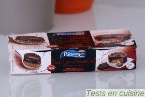 Croustillant au chocolat noir noisettes et amandes Pâturages