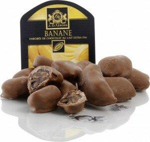 Banane enrobée au chocolat au lait Lidl