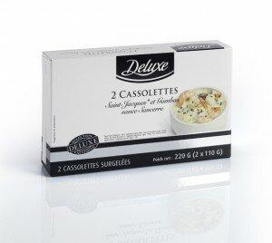Cassolettes de Saint-Jacques et Gambas sauce Sancerre