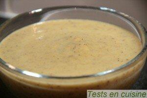 Soupe forestière Créaline : zoom