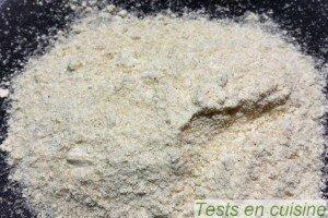 Crème brûlée Plaisance bio : la poudre