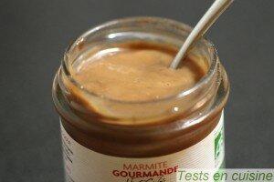 Marmite gourmande fraise nougat bio Côteaux Nantais : le pot
