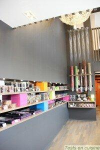 Christophe Roussel boutique De Gaulle La Baule : intérieur