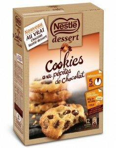 Cookies aux pépites de chocolat Nestlé Dessert