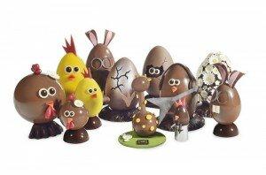 Le bestiaire chocolaté et décalé de Christophe Roussel