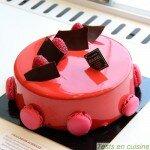 Fraîcheur acidulée - gâteau Christophe Roussel