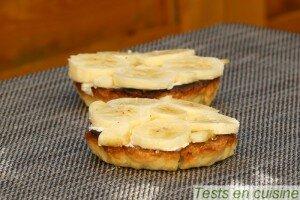Tartelettes banane coco