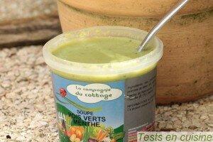 Soupe pois verts et menthe La Compagnie du Cottage