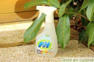 Fit : spray nettoyant pour fruits et légumes