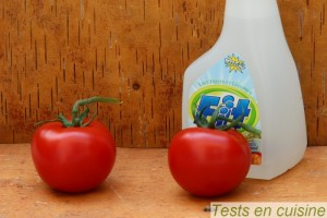 Fit : test sur tomate