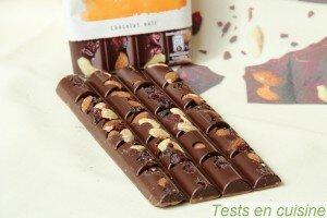 Chocolat noir cranberries et amandes Les Recettes de l'Atelier Nestlé