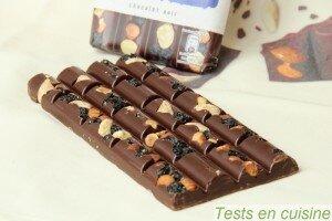 Chocolat noir myrtilles, amandes & noisettes Les Recettes de l'Atelier Nestlé