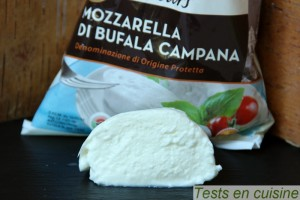 Mozzarella di bufala campana U Saveurs : zoom