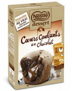 Coeurs coulants Nestlé Dessert