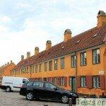 Les maisons ouvrières du quartier Nyboder