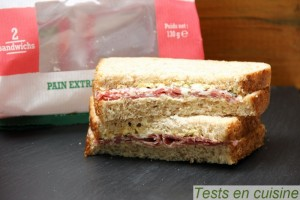 Sandwich Le Lyonnais Fleury Michon