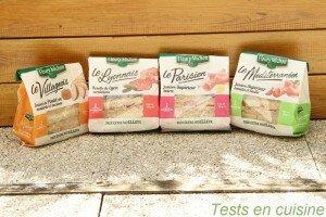 Sandwichs Fleury Michon : recettes régionales