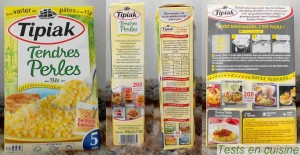 Tendres perles de blé Tipiak