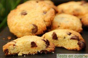 Cookies aux pépites de chocolat Nestlé Dessert : version normale