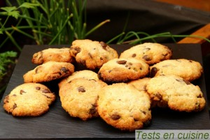 Cookies aux pépites de chocolat Nestlé Dessert : après cuisson