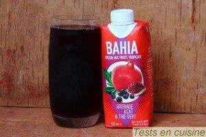 Grenade, açaï et thé vert Bahia Drink