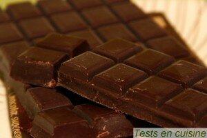 Tablette chocolat noir corsé Nestlé Dessert