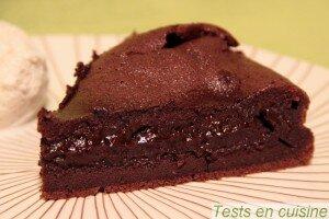 Fondant au chocolat corsé Nestlé Dessert