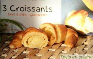 Croissants sans gluten bio Nature & Cie : zoom