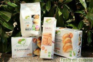 Produits sans gluten Nature & Compagnie - Tests en cuisine