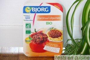Farce aux légumes Bjorg